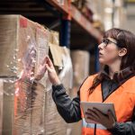 wholesale distribution worker in warehouse