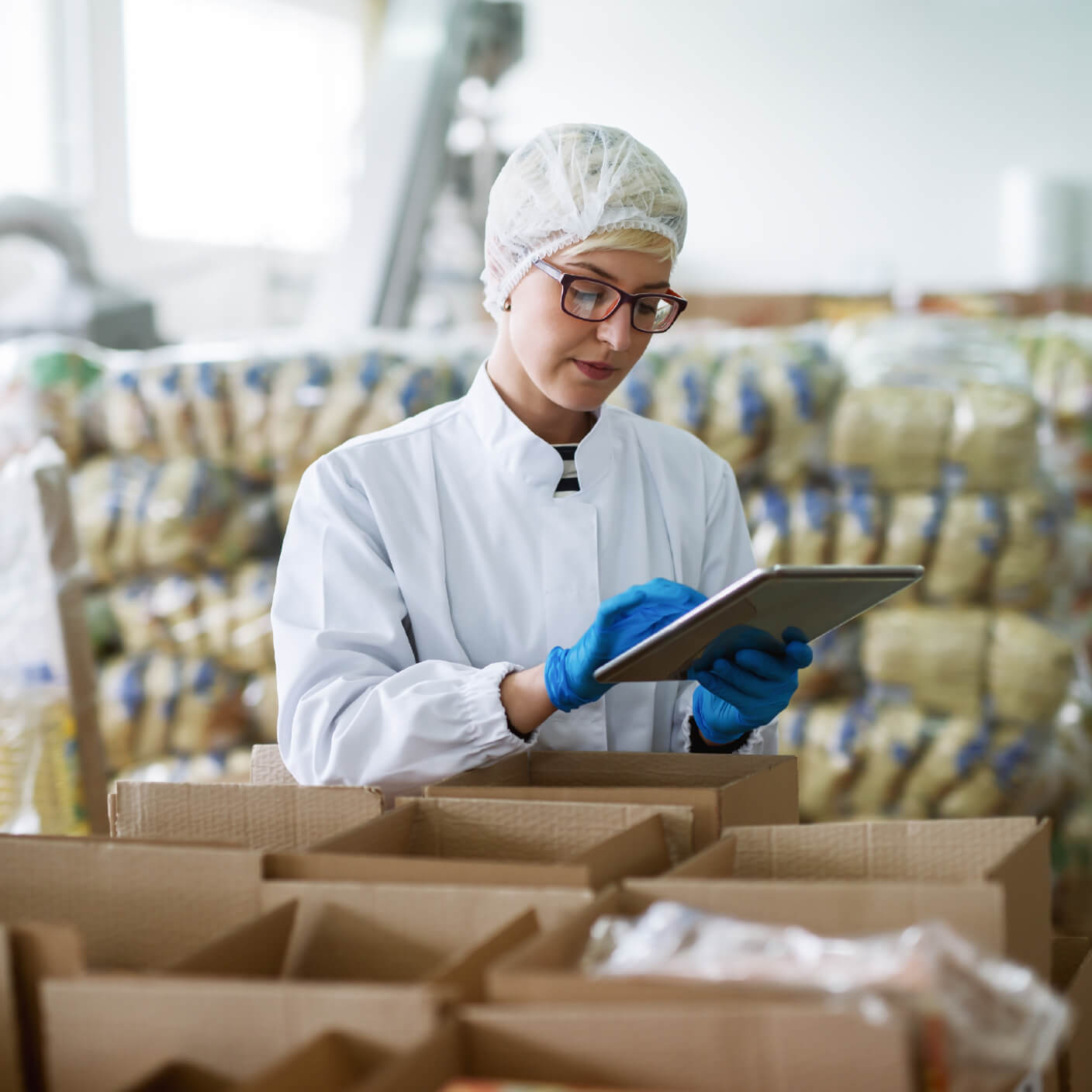 food warehouse management for quality control